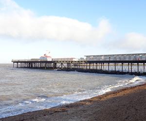beach, uk, and United Kingdom image