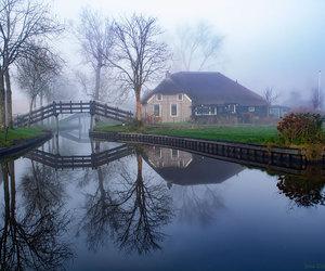 landscape and village image