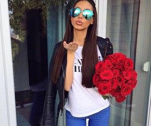 style, fashion, and rose image