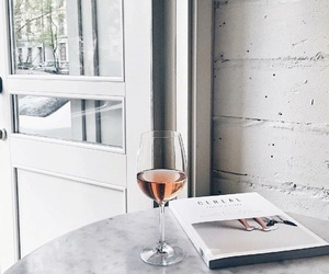 wine, white, and drink image