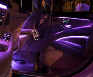 car, purple, and goals image