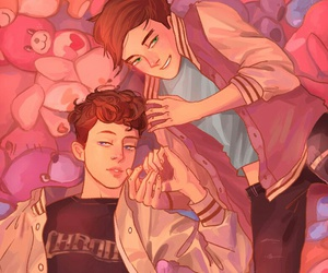 troye sivan, tronnor, and drawing image