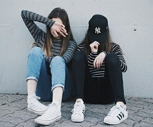 friends, tumblr, and bff image