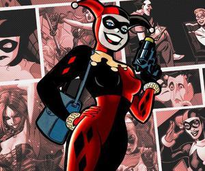 harley quinn, DC, and dc comics image