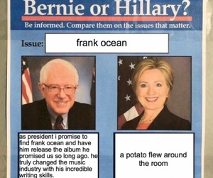 funny, Hillary Clinton, and bernie sanders image