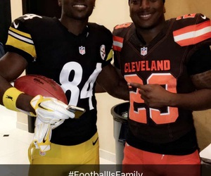 cleveland browns, football, and pittsburgh steelers image