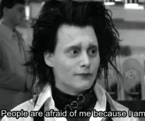 different, johnny depp, and quotes image