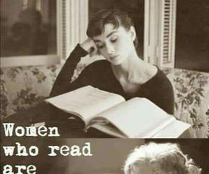woman, book, and read image