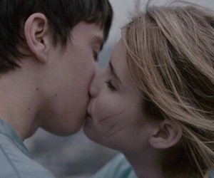 blonde, kiss, and boy image