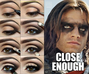 funny, lol, and make up image