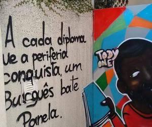 grafite, racismo, and opressão image