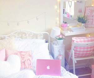 pink, bedroom, and inspiration image