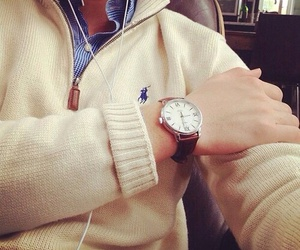 style, watch, and ralph lauren image