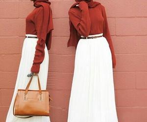 fashion, hijab, and lookbook image