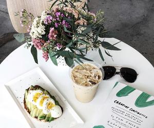 coffee, fashionlush, and flatlay image