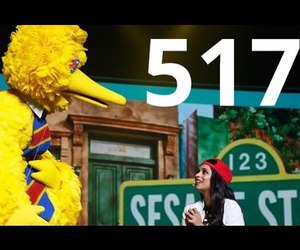 Big bird, sesame street, and youtube image