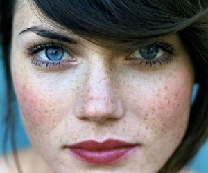 freckles, hair, and beauty image