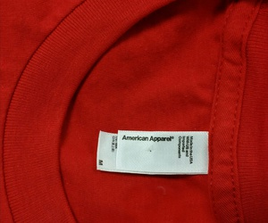 red, aesthetic, and american apparel image