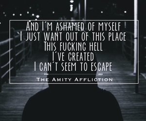 edit, Lyrics, and the amity affliction image