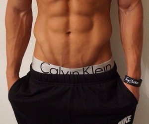 abs, boy, and model image