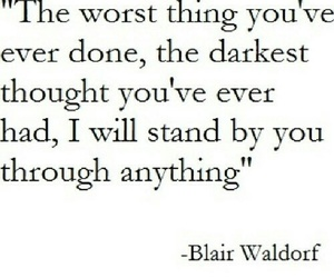 quote, love, and blair waldorf image