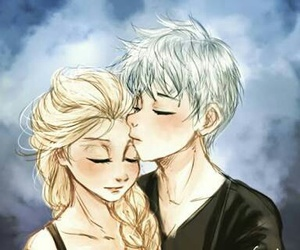 frozen, jelsa, and love image