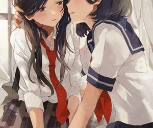anime, sailor uniform, and pixiv image