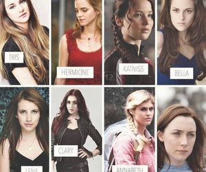 wanda, katniss, and bella image