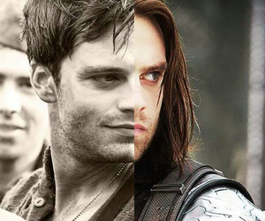 bucky and winter soldier image