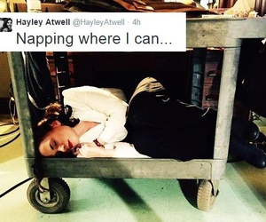 nap, hayley atwell, and peggy carter image