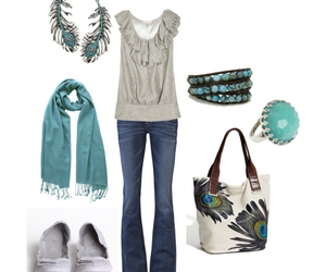 turquoise, totally me, and peacock image