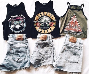 fashion, outfit, and Guns N Roses image