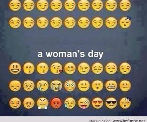 woman, day, and man image