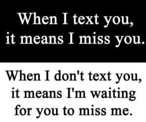 text, miss, and quotes image
