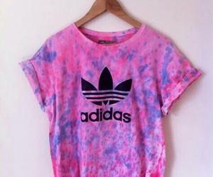 adidas, shirt, and pink image