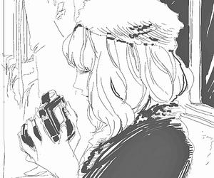 anime girl, girl, and art image