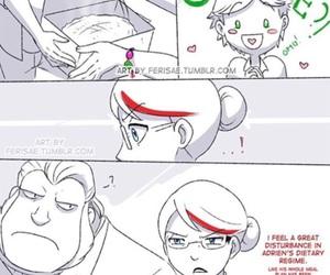comic and miraculous ladybug image