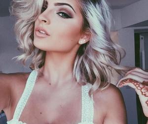 glamour, lipstick, and make up image