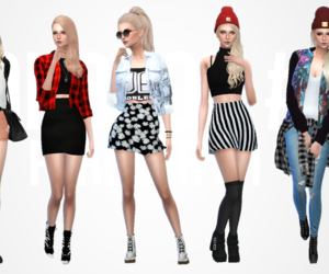 fashion, outfits, and pose image