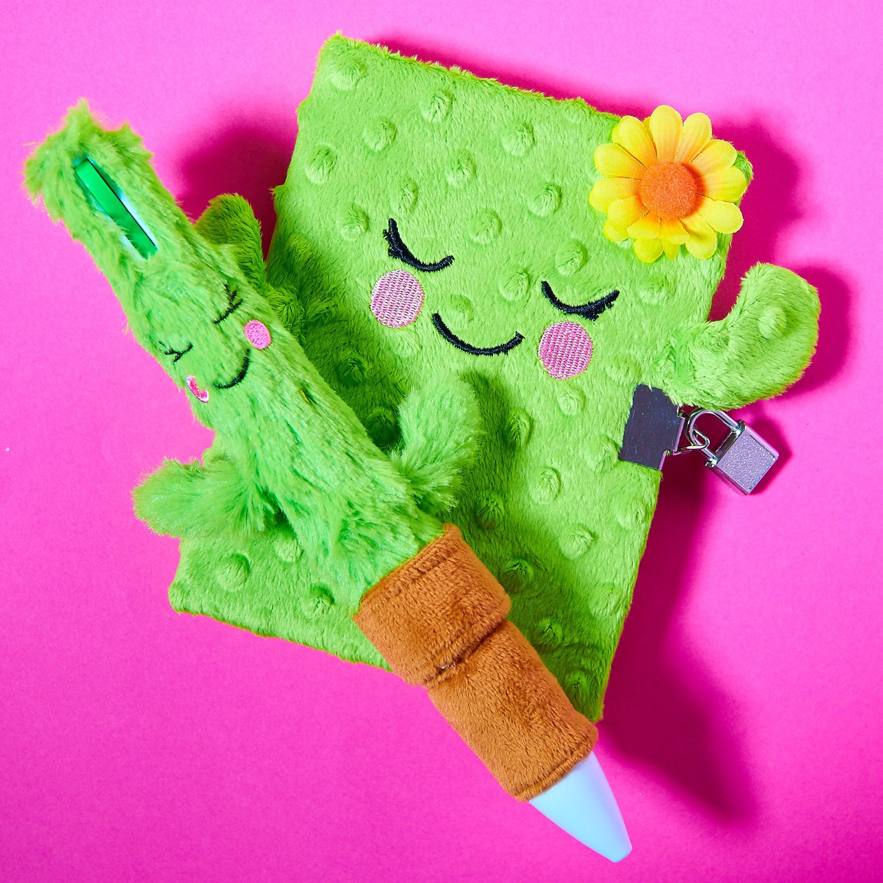 cactus, girly, and notebook image