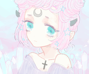 pastel, anime, and kawaii image