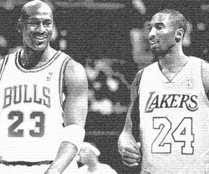 kobe bryant and michael jordan image