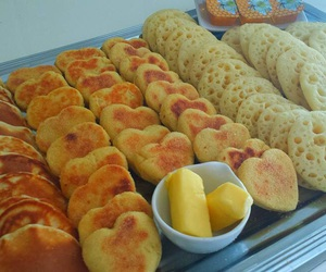 bread, breakfast, and pancakes image