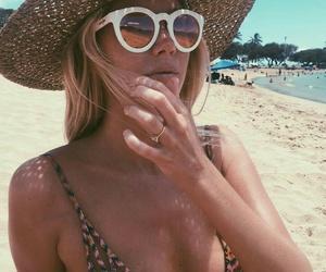 beach, bikini, and fashion image