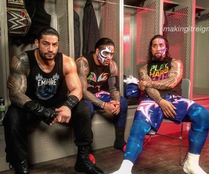 wwe, usos, and roman reigns image