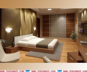 bedroom, pleasing, and design ideas image