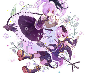 vocaloid and v flower image