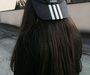 adidas, hair, and tumblr image