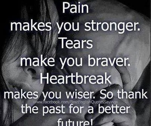 pain, tears, and future image