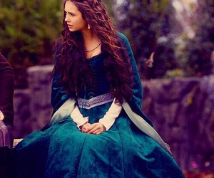 Nina Dobrev, katherine pierce, and the vampire diaries image